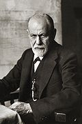 Sigmund Freud, the founder of psychoanalysis
