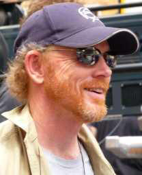 Andy Griffith played the father to Opie, played by Ron Howard. Here we see Howard as an adult.
