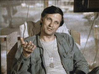 Hawkeye Pierce was the center of MASH