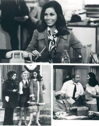 Scenes from the Mary Tyler Moore show.